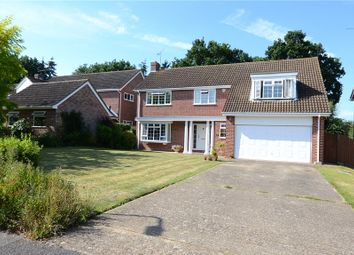 Thumbnail 5 bedroom detached house for sale in Sandford Drive, Woodley, Reading