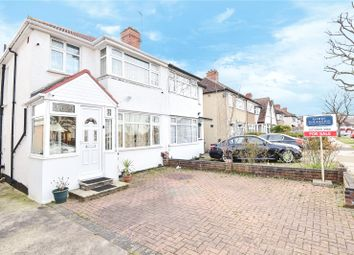 Thumbnail 3 bed semi-detached house for sale in Welbeck Road, Harrow, Middlesex