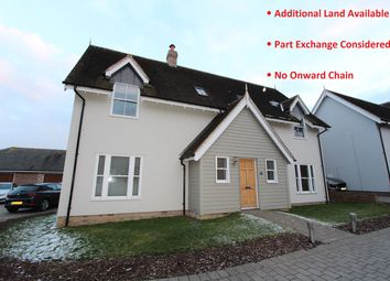 Thumbnail 4 bed detached house for sale in The Paddocks, Rettendon Common, Chelmsford