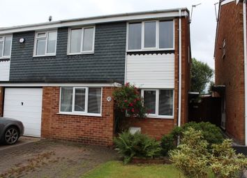 Thumbnail 3 bed semi-detached house for sale in Romney, Wilnecote, Tamworth