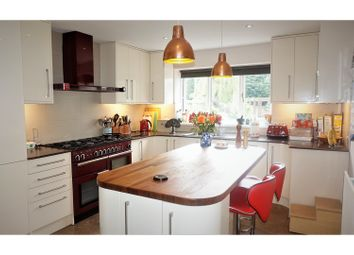 Thumbnail 4 bed detached house for sale in Coppenhall Lane, Crewe