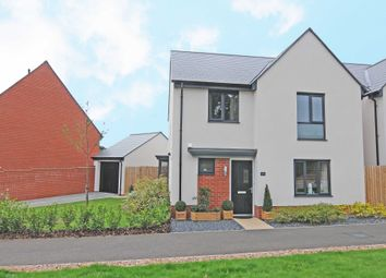 Thumbnail 4 bed detached house to rent in Old Quarry Drive, Exminster, Exeter
