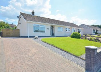 Thumbnail 2 bed semi-detached bungalow for sale in Moorfield Avenue, Workington