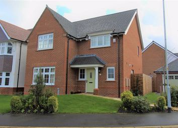 Thumbnail 4 bed detached house for sale in Clematis Drive, Garstang, Preston