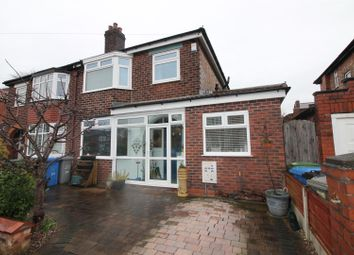 Thumbnail 3 bed semi-detached house for sale in Glenhaven Avenue, Urmston, Manchester