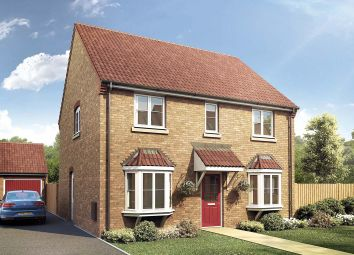 Thumbnail 4 bedroom detached house for sale in Eastrea Road, Whittlesey Green, Whittlesey, Peterborough