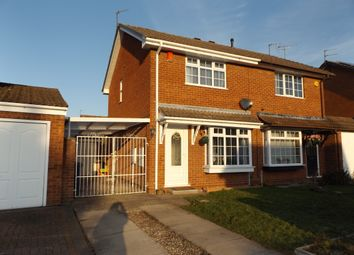 Thumbnail 2 bedroom semi-detached house for sale in Larkspur Drive, Featherstone, Wolverhampton