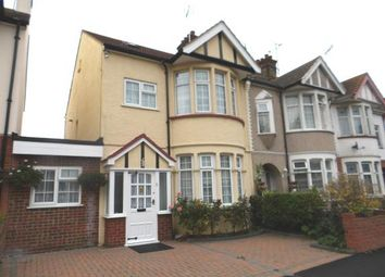 Thumbnail 4 bedroom end terrace house for sale in South Avenue, Southend-On-Sea