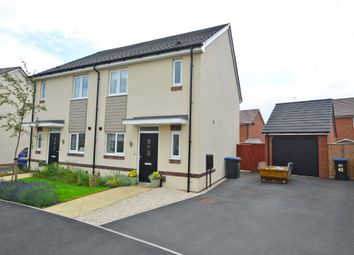 Thumbnail 3 bed semi-detached house for sale in Edison Drive, Rugby
