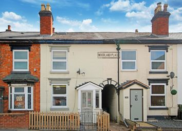 Thumbnail 2 bed terraced house for sale in Evesham Road, Crabbs Cross, Redditch