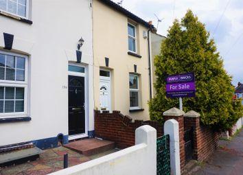 Thumbnail 2 bed end terrace house for sale in Gillingham Road, Gillingham
