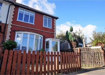 Thumbnail 3 bed semi-detached house for sale in Burnaston Road, Leicester