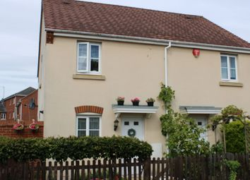 Thumbnail 2 bed semi-detached house for sale in Military Drive, Thatcham