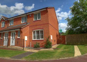 Thumbnail 3 bed town house for sale in Bracken Court, Bilsthorpe, Newark