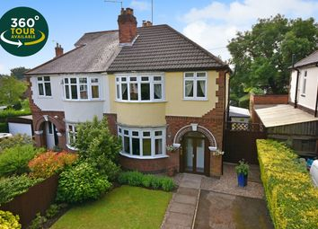 Thumbnail 3 bed semi-detached house for sale in Granville Road, Wigston, Leicester