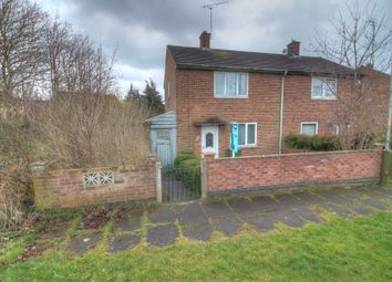 Thumbnail 2 bed semi-detached house for sale in Beaumont Leys Close, Leicester
