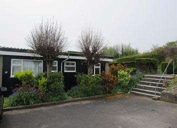 Thumbnail 2 bedroom mobile/park home for sale in Fort Road, Lavernock, Penarth