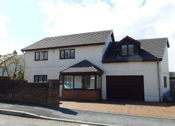 Thumbnail 4 bed detached house for sale in Park View, 2 Black Lion Road, Gorslas, Llanelli, Carmarthenshire.