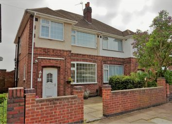 Thumbnail 3 bed semi-detached house for sale in Wiltshire Road, Stadium Estate, Leicester