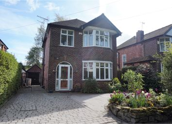 Thumbnail 3 bed detached house for sale in The Green, Wilmslow