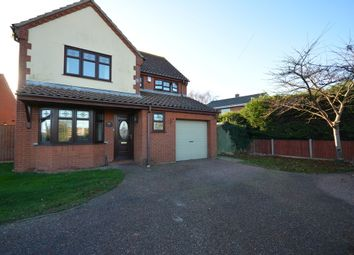 Thumbnail 4 bedroom detached house for sale in Lowestoft Road, Carlton Colville, Lowestoft