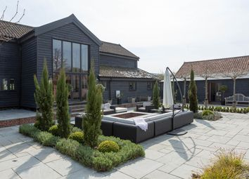 Thumbnail 5 bed barn conversion for sale in The Street, Stowlangtoft, Bury St. Edmunds