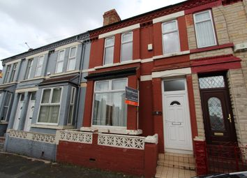 Thumbnail 3 bed terraced house to rent in Sycamore Road, Tranmere, Birkenhead