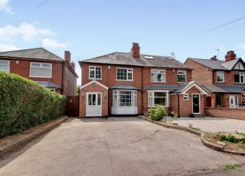Thumbnail 3 bed semi-detached house for sale in Stoke Lane, Gedling, Nottingham