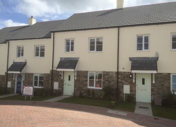 Thumbnail 4 bed terraced house to rent in Hillhay Close, Fowey