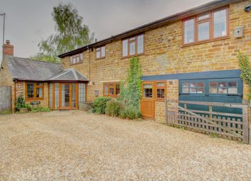 Thumbnail 4 bed farmhouse for sale in Harborough Road, Brixworth, Northampton