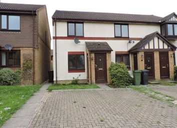 Thumbnail 2 bed terraced house to rent in Merryfield, Chineham, Basingstoke