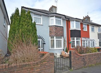 Thumbnail 3 bed terraced house for sale in Bay-Fronted End-Terrace, Margaret Avenue, Newport