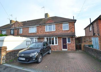 Thumbnail 3 bed semi-detached house for sale in Northbourne Road, Eastbourne