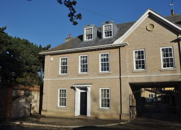 Thumbnail 3 bed town house for sale in School Street, Needham Market, Ipswich