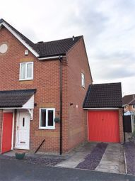 Thumbnail 2 bed semi-detached house to rent in Highgrove Crescent, Leicester