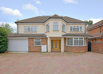 Thumbnail 6 bed detached house for sale in The Ridgeway, Radlett