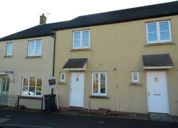 Thumbnail 2 bed terraced house to rent in Bell Chase, Yeovil