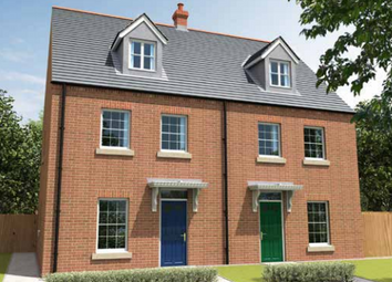 Thumbnail 3 bed terraced house for sale in The Errol, Meadow Way, Spalding, Peterboroough