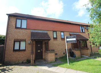 Thumbnail 2 bed end terrace house to rent in Calverleigh Crescent, Furzton, Milton Keynes