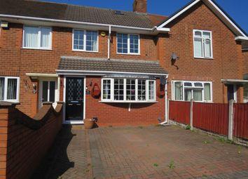 Thumbnail 2 bedroom terraced house for sale in Cossington Road, Erdington, Birmingham