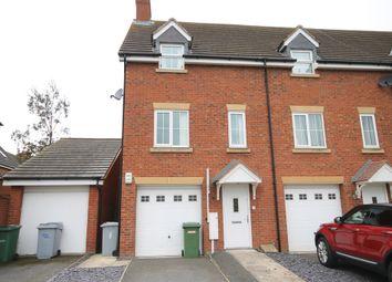 Thumbnail 3 bed end terrace house for sale in Gardiner Avenue, Fernwood, Newark, Nottinghamshire.