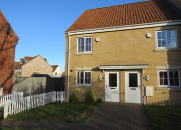 Thumbnail 3 bed end terrace house for sale in Chapel Road, Carlton Colville, Lowestoft