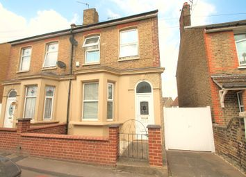 Thumbnail 4 bedroom semi-detached house for sale in Norfolk Road, Gravesend