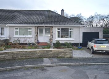 Thumbnail 3 bed semi-detached bungalow for sale in Clijah Close, Redruth