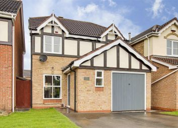 Thumbnail 3 bed detached house for sale in Forge Mill Grove, Hucknall, Nottinghamshire