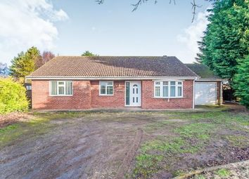 Thumbnail 3 bed bungalow for sale in Willington Road, Kirton End, Boston, Lincolnshire