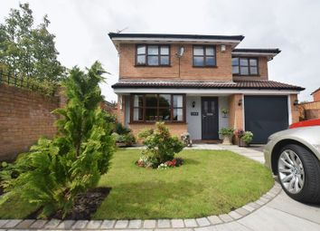 Thumbnail 4 bed detached house for sale in Hickory Close, Newton-Le-Willows