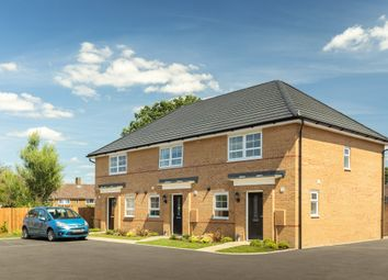 """Thumbnail 3 bed semi-detached house for sale in """"Barton"""" at Lancaster Avenue, Watton, Thetford"""
