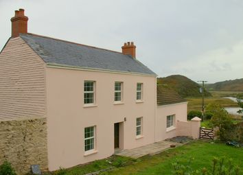 Thumbnail 4 bed farmhouse to rent in Dale, Haverfordwest
