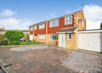 Thumbnail 3 bed semi-detached house for sale in The Crest, Sawbridgeworth, Hertfordshire